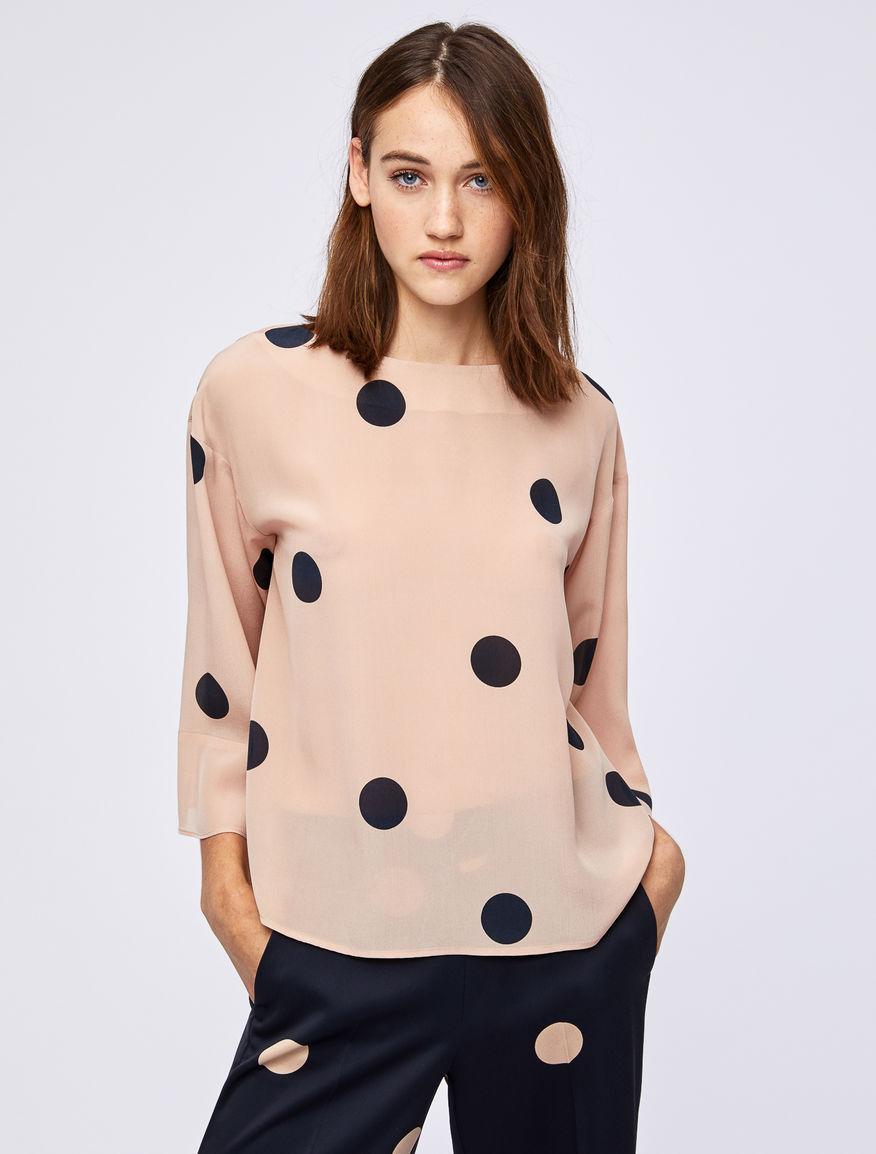 Polka dot blouse Marella