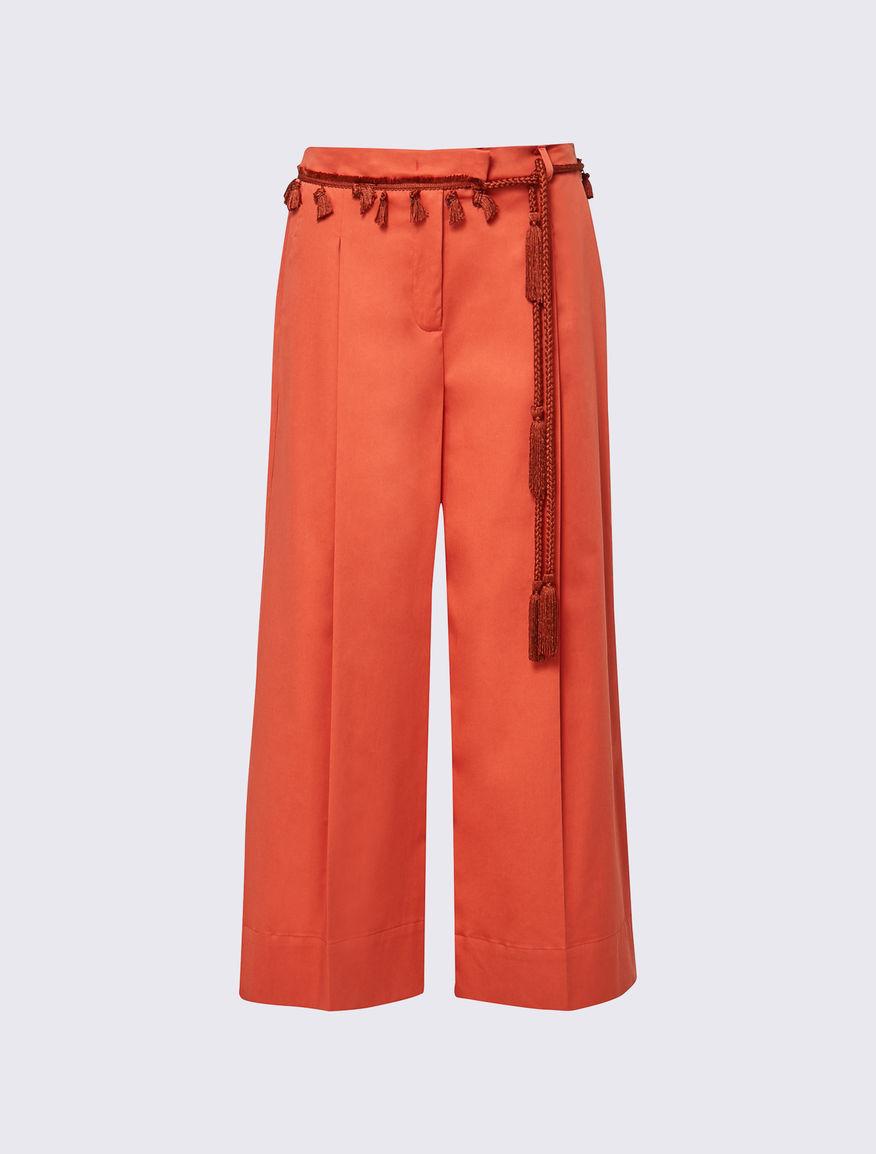 Pantaloni con nappine Marella