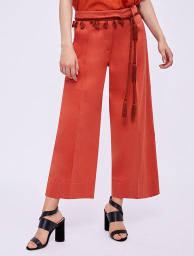 Pantalon avec pompons Marella
