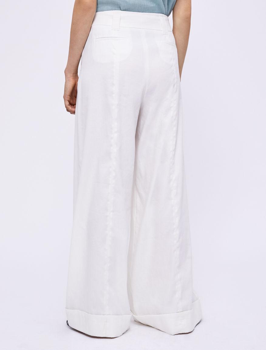 Pantalón de lino Marella