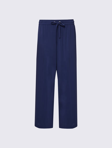 Trousers with piping Marella