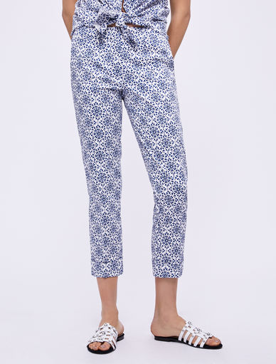 Printed trousers Marella