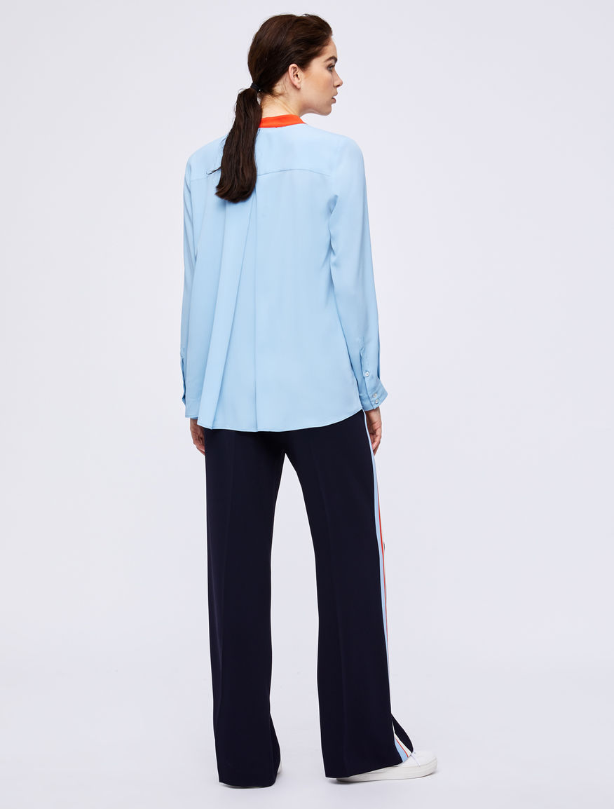 Crepe trousers Marella