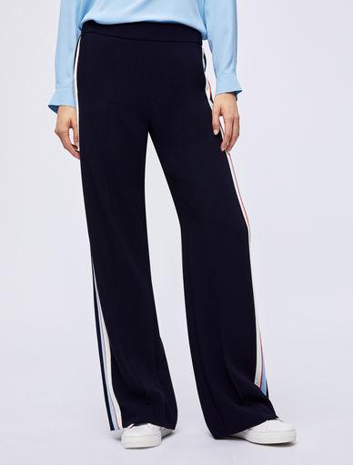 Pantalon en crêpe Marella