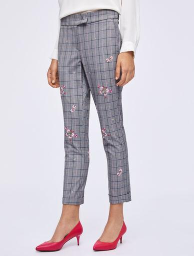 Pantaloni Principe di Galles Marella