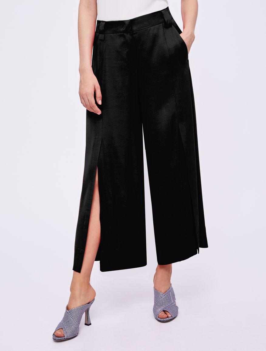 Pantaloni con spacco Marella