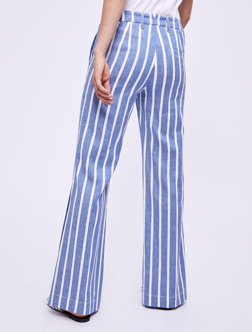 Pantaloni in lino Marella