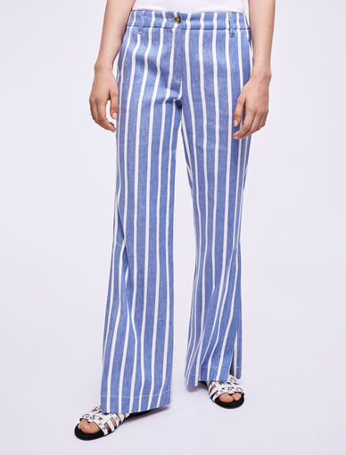 Pantalon en lin Marella