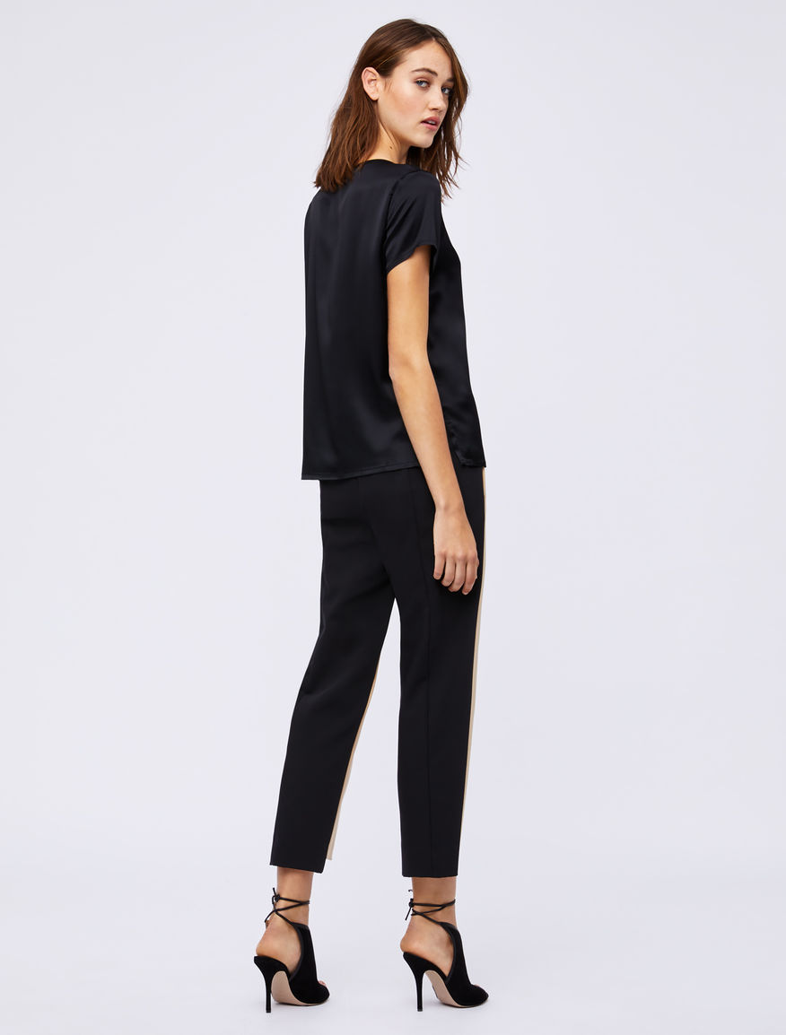 Two-tone trousers Marella