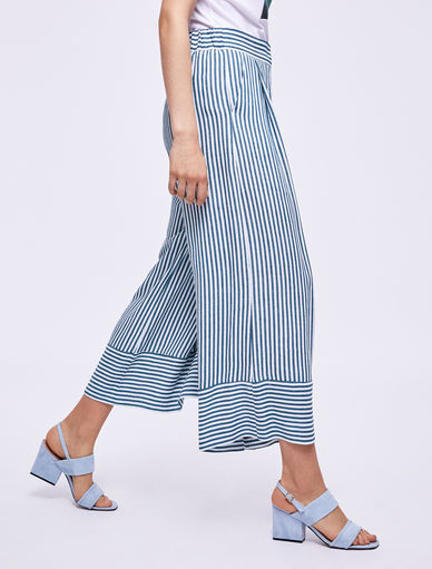 Striped trousers Marella