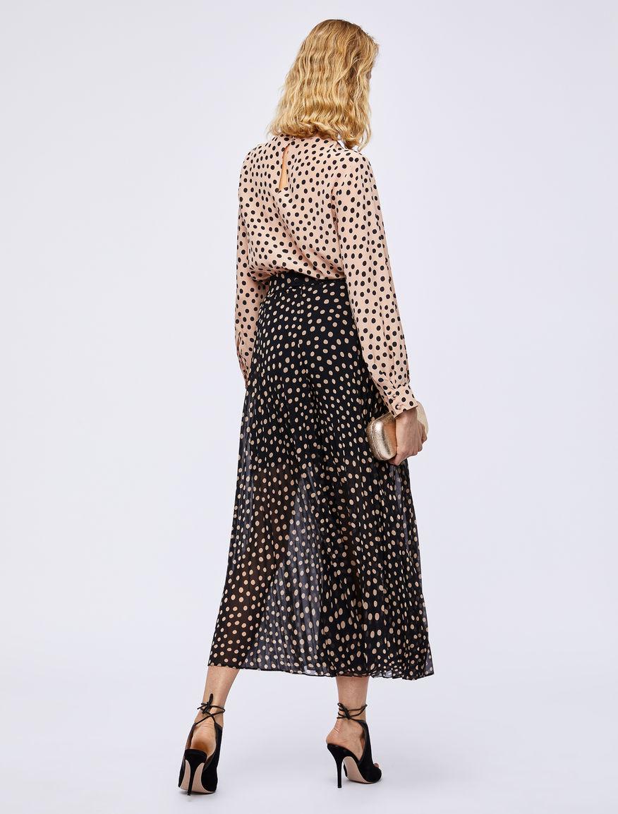 Pantalón plisado Marella