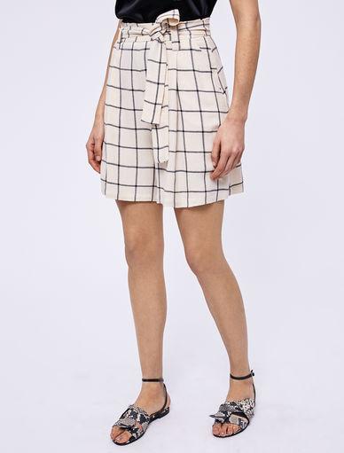 Shorts de lino Marella