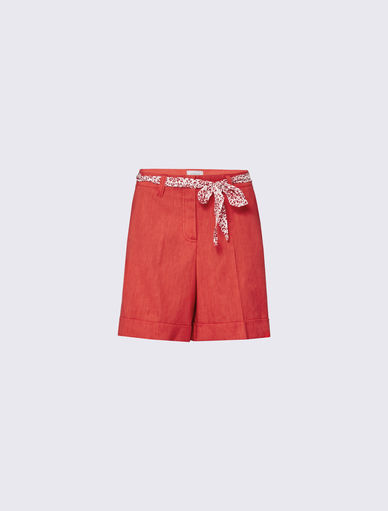 Shorts in lino Marella