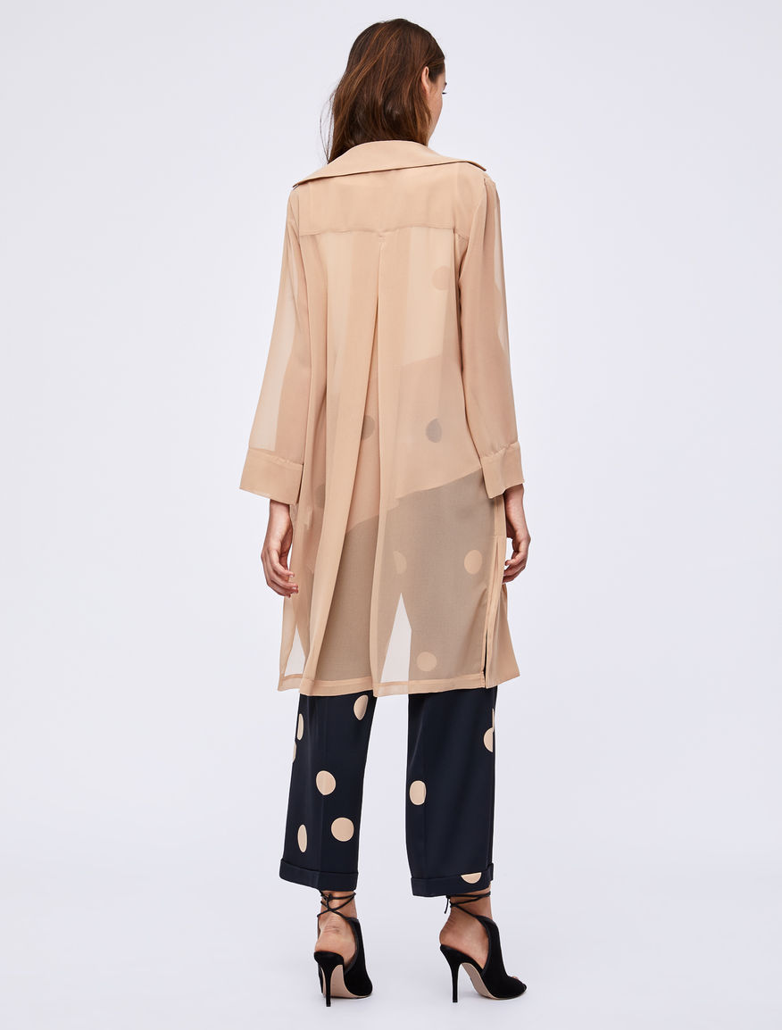 Georgette duster coat Marella