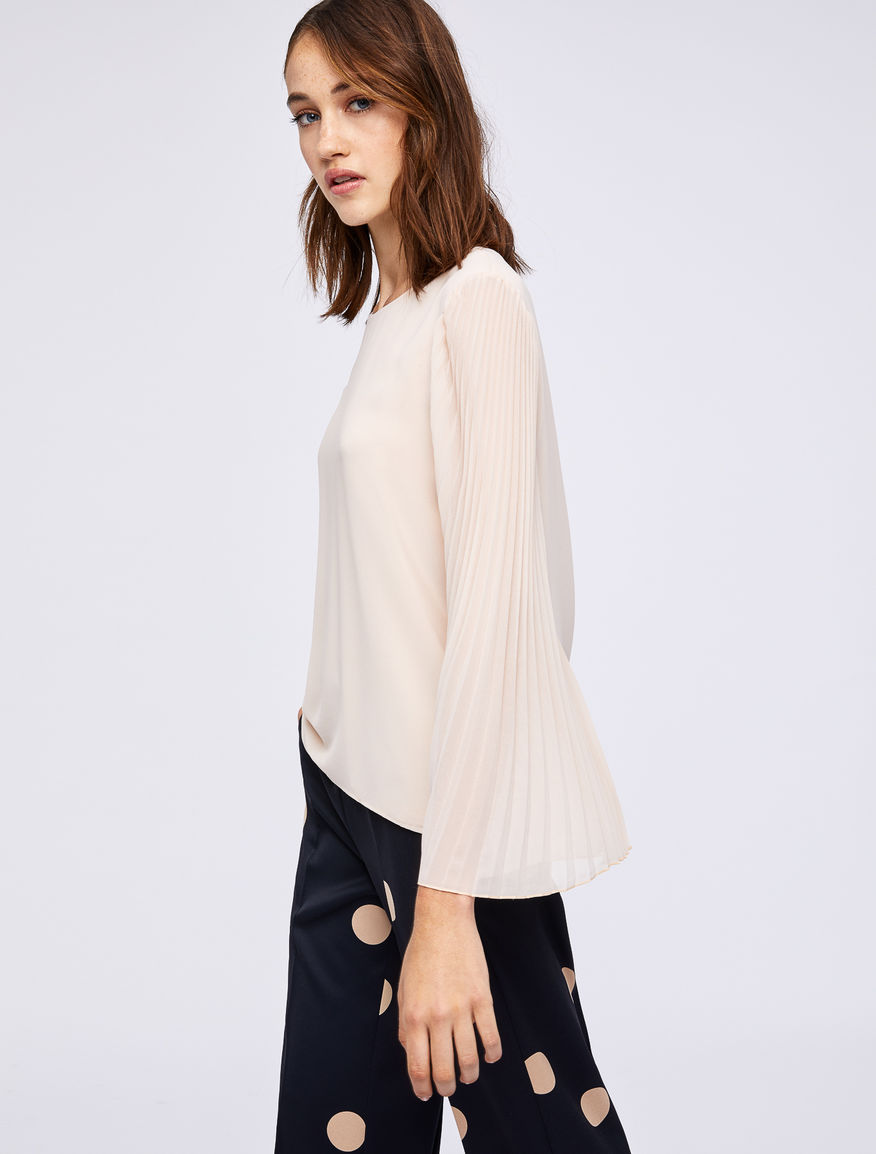 Blusa plissé Marella