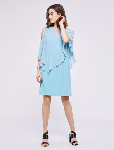 Dress with cape Marella