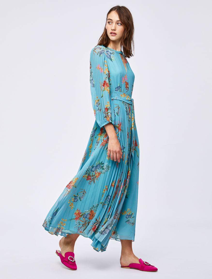 Floral-print dress Marella