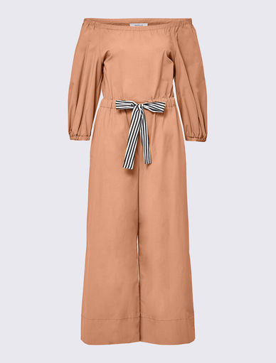 Off-the-shoulder jumpsuit Marella