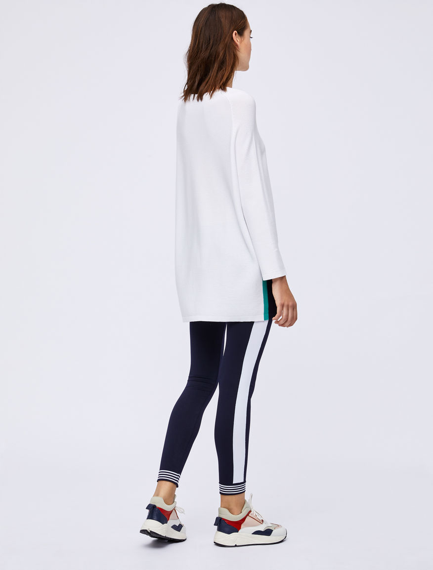 Jumper with contrasting bands Marella