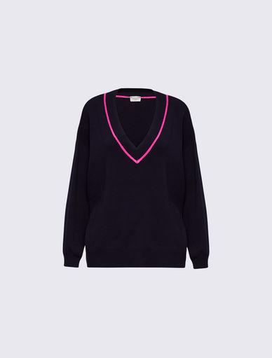 Jersey con cuello de pico Marella