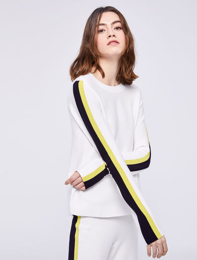 Jumper with contrasting stripes Marella
