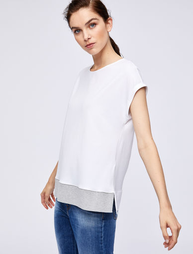 Boxy T-shirt. Marella