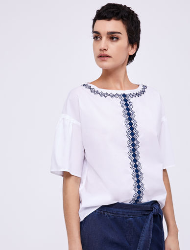 Embroidered top Marella