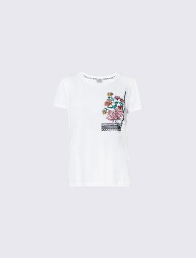 T-shirt brodé Marella