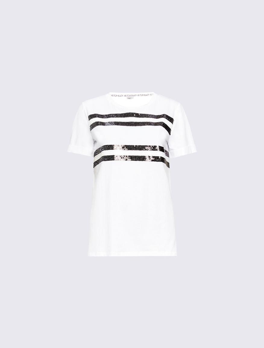 Camiseta con paillettes Marella