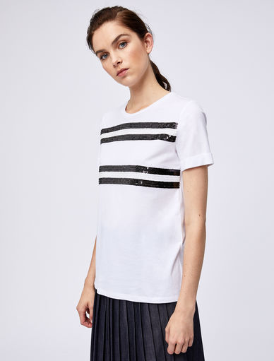 Sequinned T-shirt Marella
