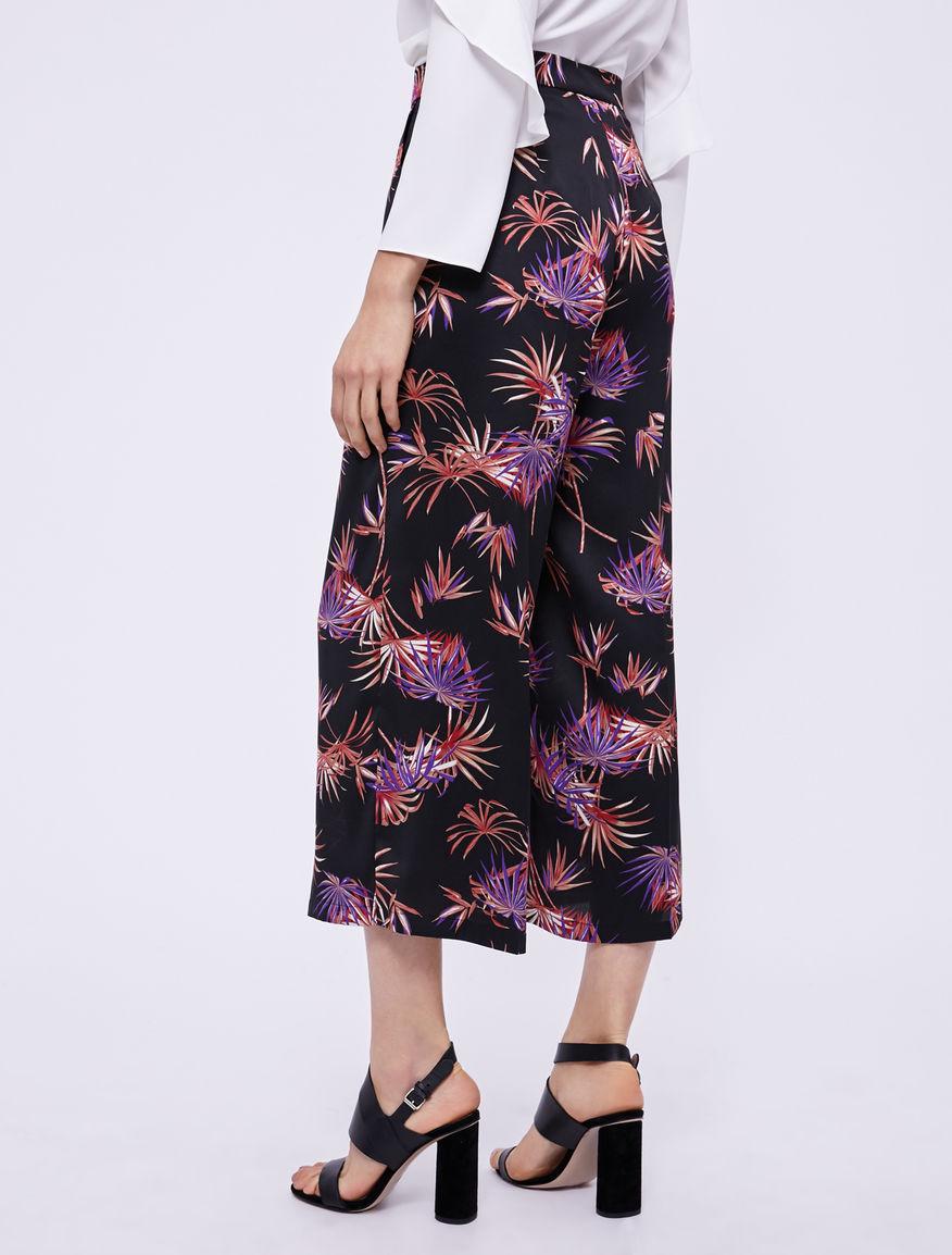 Printed trousers Marella