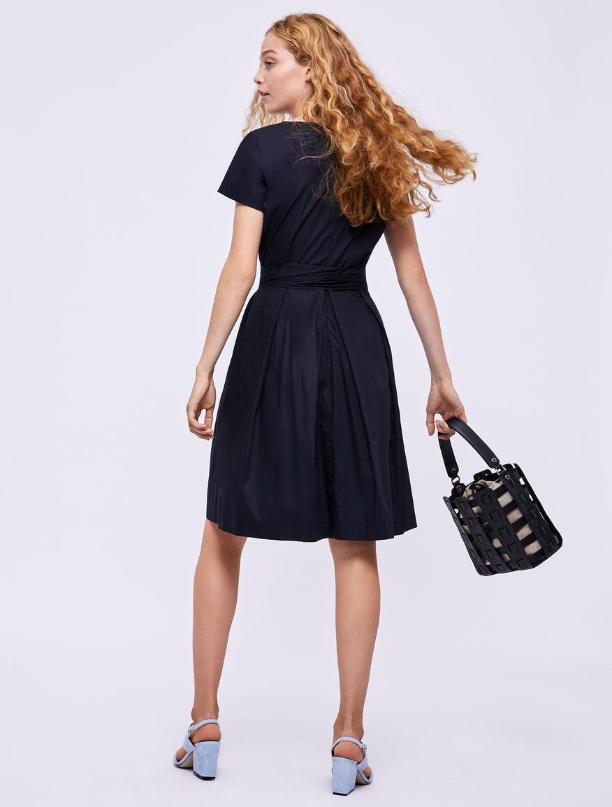 Wrap dress in cotone Marella