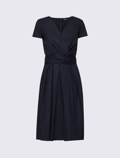 Wrap dress in cotone Marella