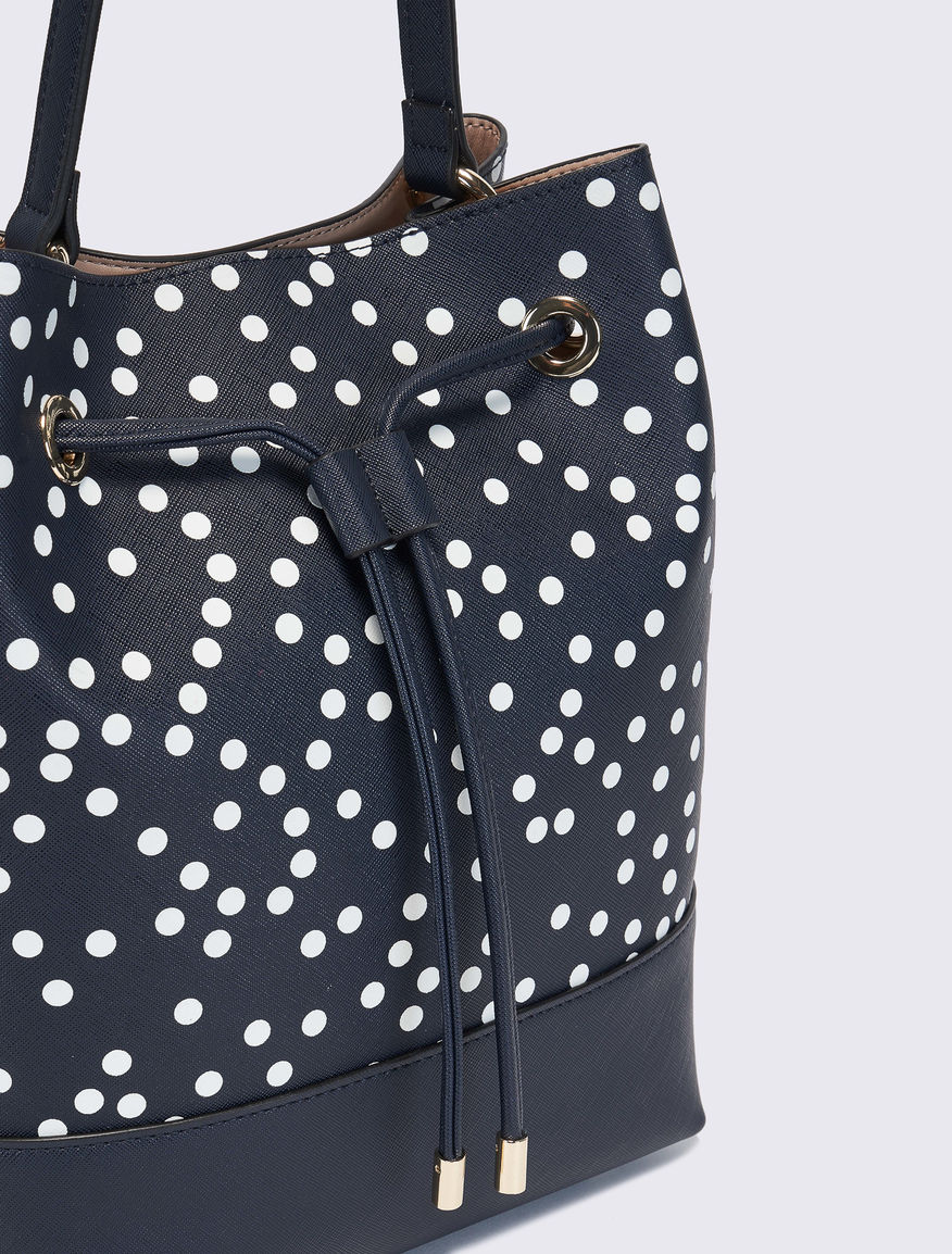Polka dot bucket bag Marella