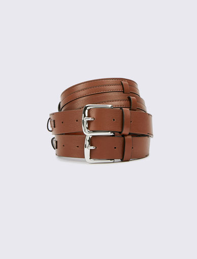 Cinturón de piel Marella
