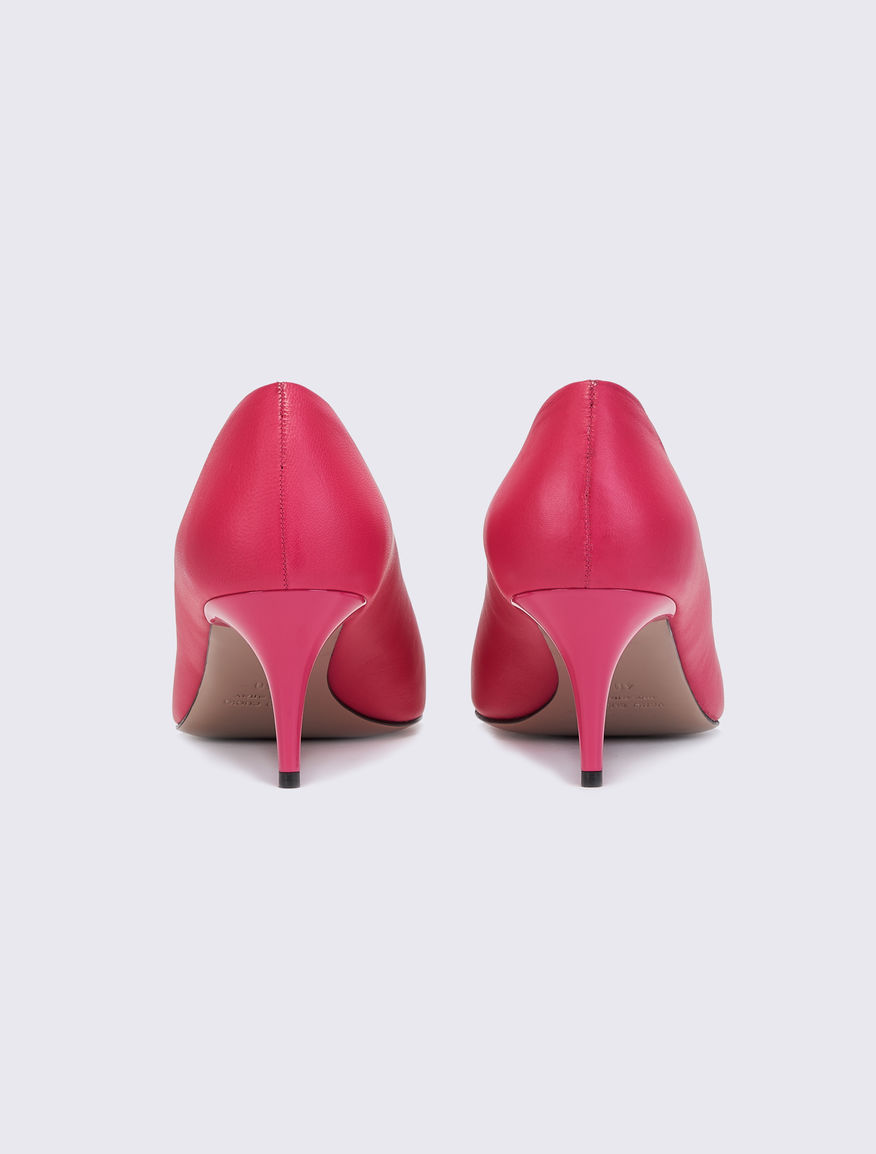 Leather court shoes Marella
