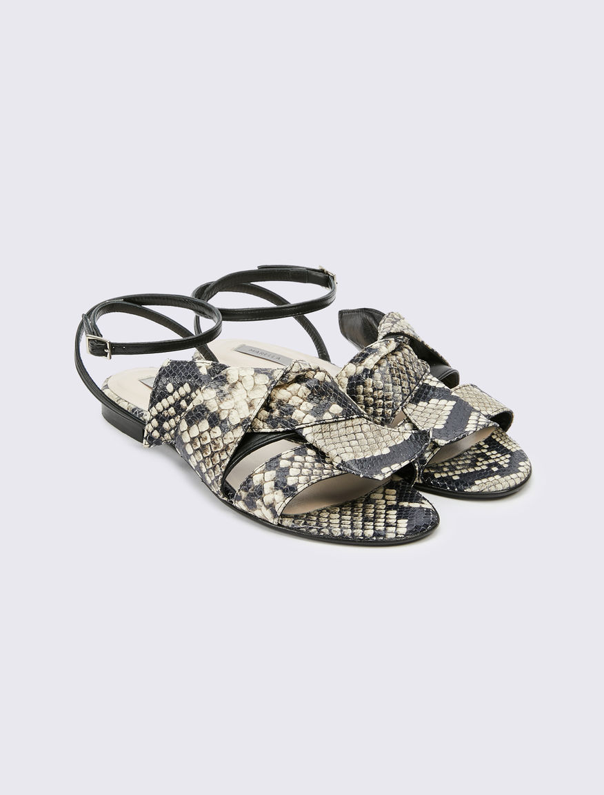 Leather sandals Marella