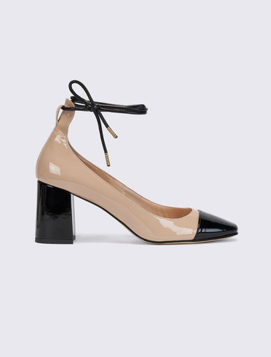 Two-tone court shoes Marella