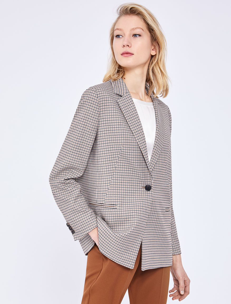 Single-breasted blazer Marella