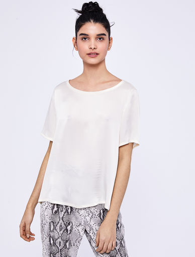 Top en satin Marella