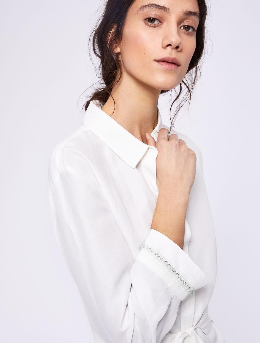 Camicia in lino Marella