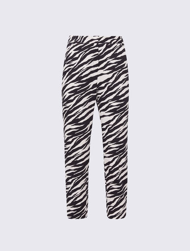 Animal-print trousers Marella