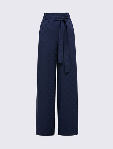 Polka dot trousers Marella