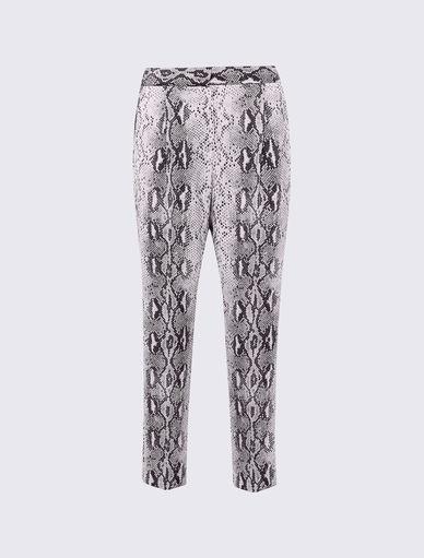 Pantalon imprimé python Marella