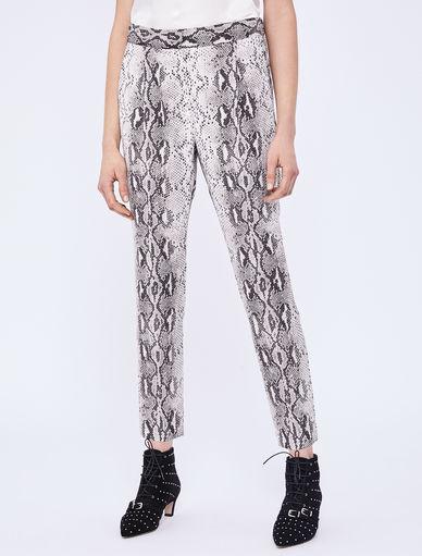 Pantaloni stampa pitone Marella