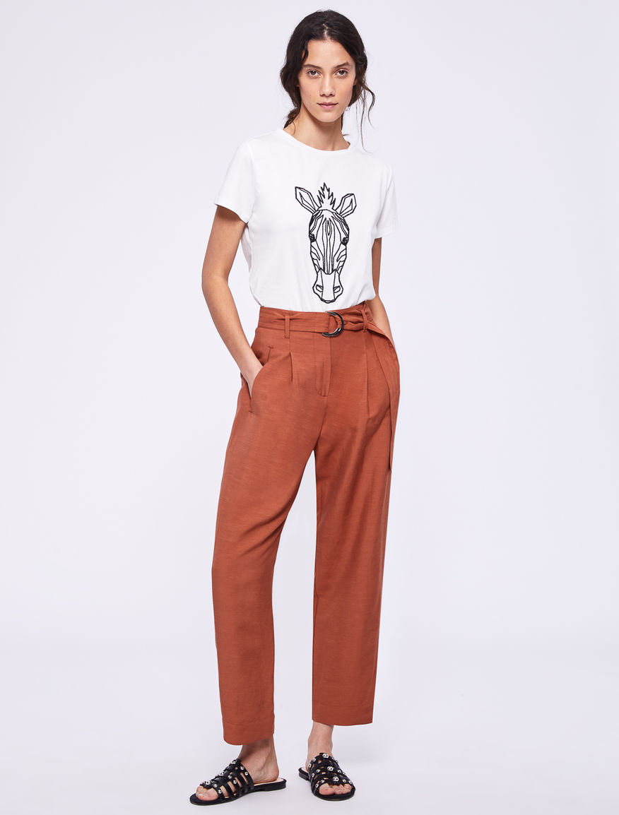 T-shirt con stampa Marella