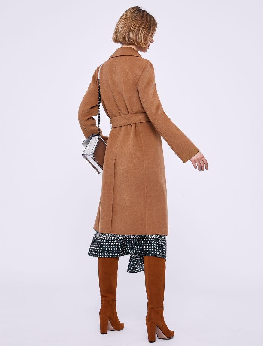 Abrigo con cinturón Marella