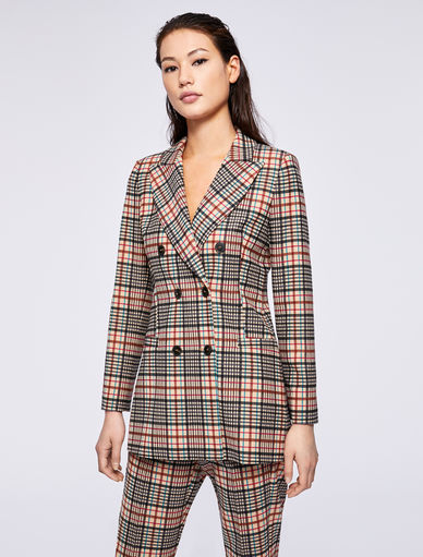 Checked blazer Marella