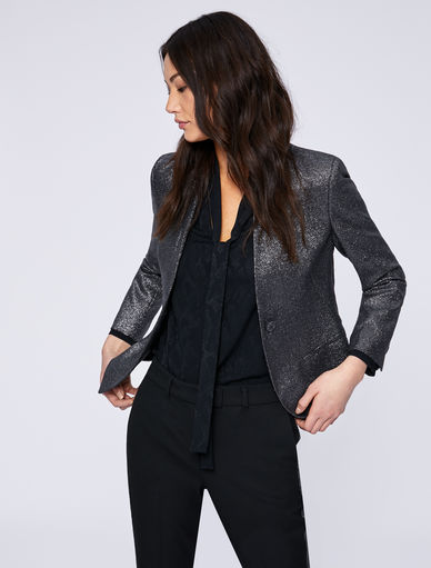 Blazer in lurex Marella