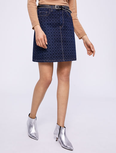 Minigonna in denim Marella